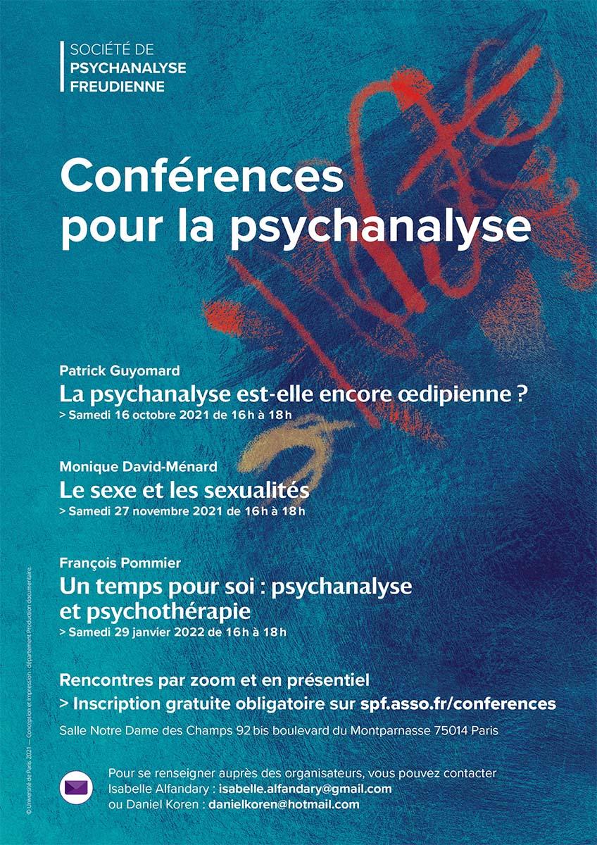 Visuel original et mise en page Dominique Razafindrazaka-Riem © Société freudienne de psychanalyse